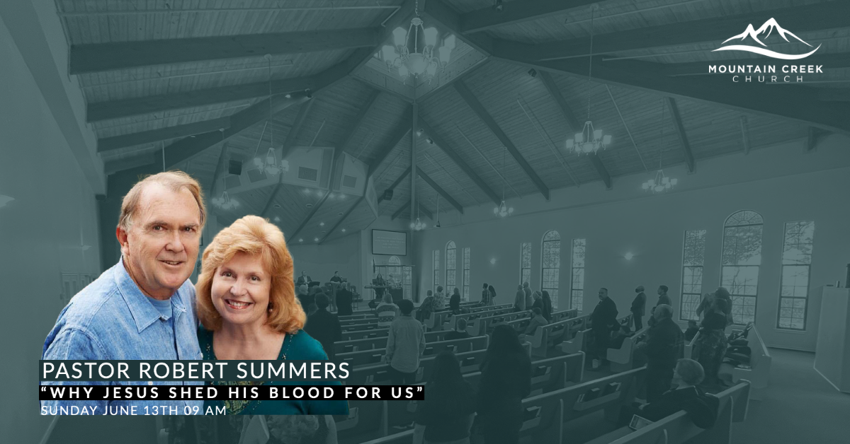 Why Jesus Shed His Blood For US