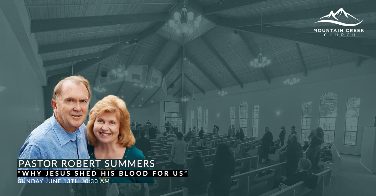 Why Jesus She His Blood For Us