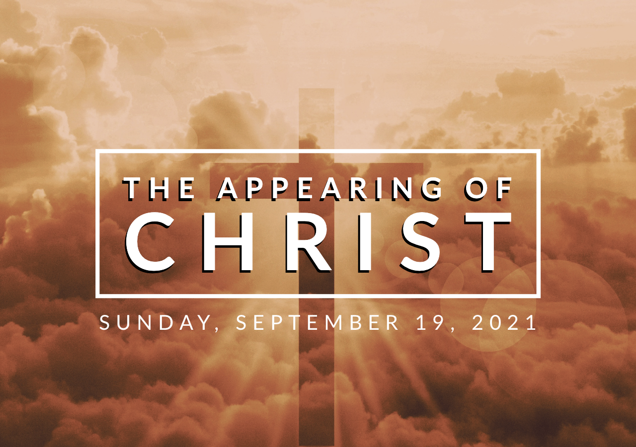 The Appearing of Christ