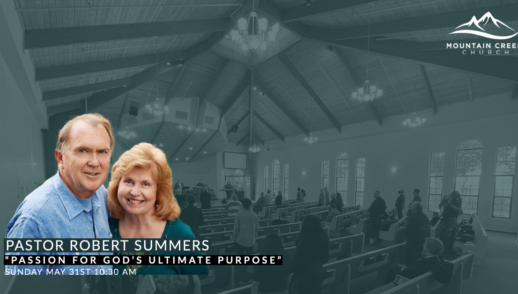 PASSION FOR GOD'S ULTIMATE PURPOSE